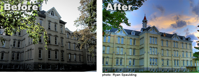 Traverse City Hospital before and after