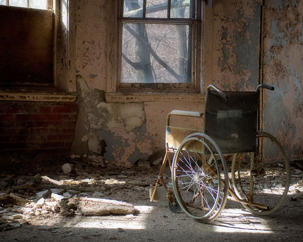 Abandoned Wheelchair